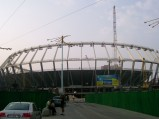 Bodowa, Stadion Olimpijski w Kijowie