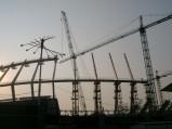 Szkielet Stadion Olimpijski w Kijowie