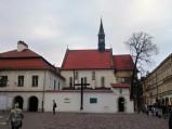 Pomnik Ofiar Katynia przed Kościółem św. Idziego w Krakowie