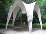 Pająk w Parku Zdrojowym w Kudowie-Zdrój