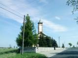 Wieża kościelna w Łąkach