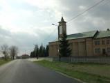 Nawa boczna kościoła w Łąkach