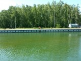 Kanał Chełst, Łeba