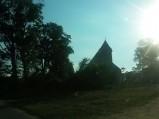 Kościół w miejscowości Leszcz