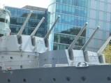 Działka okrętu HMS Belfast, Londyn