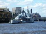 Okręt HMS Belfast, Londyn
