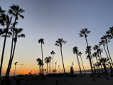 Venice Beach, wieczorem, Los Angeles