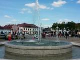 Fontanna na Nowym Rynku w Łowiczu