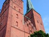 Wieże katedry w Lubece