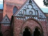 Wejście boczne do katedry w Lubece
