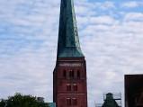 Wieże, katedra w Lubece