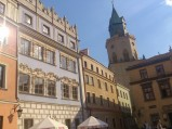Kamienice na rynku w Lublinie