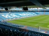 Trybuna Stadionu Santiago Bernabeu w Madrycie