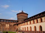 Baszta, Zamek Sforzów w Mediolanie