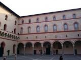 Dziedziniec Rocchetta, Zamek Sforzów w Mediolanie