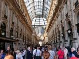 Korytarz Galerii Wiktora Emanuela II w Mediolanie