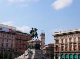 Pomnik Wiktora Emanuela II, Mediolan