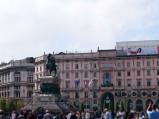 Pomnik Wiktora Emanuela II w Mediolanie
