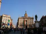 Ulica Piazza Cordusio w Mediolanie