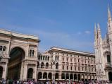 Wejście do Galeria Wiktora Emanuela II w Mediolanie