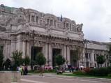 Wejście na Dworzec Centralny w Mediolanie