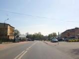 Główny plac w Miastkowie Kościelnym