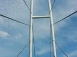 Pylony mostu w Mikołajkach