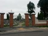 Brama na Cmentarz w Milejowie