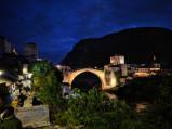 Stary Most nocą, Mostar