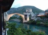 Wieczór, Stary Most w Mostarze