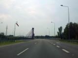 Estakada A1 nad rzeka Kolejówka w Mszanie