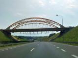 Most nad A1 w Mszanie
