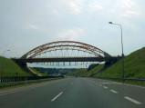 Most nad autostradzie w Mszanie