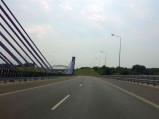 Most autostradowy A1 w Mszanie