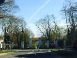 Skrzyżowanie przed Pałacem w Nieborowie