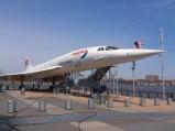 Concorde w muzeum Intrepid w Nowym Jorku