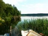 Widok z pomostu, Jezioro Zyzdrój Wielki, Zyzdrój