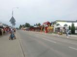 Centrum, główna ulica w Okunince