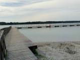 Pomost plaża główna w Okunince