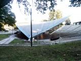 Dach amfiteatru w Opolu