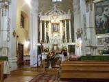 Ołtarz kościoła w Orchówku