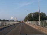 Most graniczny w kierunku Chorwacji w Ormož