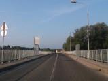 Most na granicy Słowenii i Chorwacji w Ormož