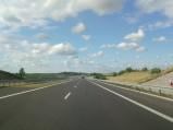 Dojazd do mostu nad S7 w Ostródzie