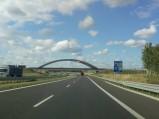 Most nad S7 przed Ostródą