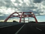 Przed Mostem nad kanałem w Ostródzie