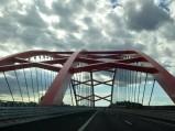 Most nad kanałem w Ostródzie