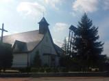 Kościół i dzwonnica w Ostrowie