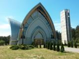 Ukończona elewacja Kościół Niepokalanego Poczęcia NMP w Ostrowie