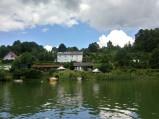 Piec Chlebowy widziany z jeziora, Ostrzyce